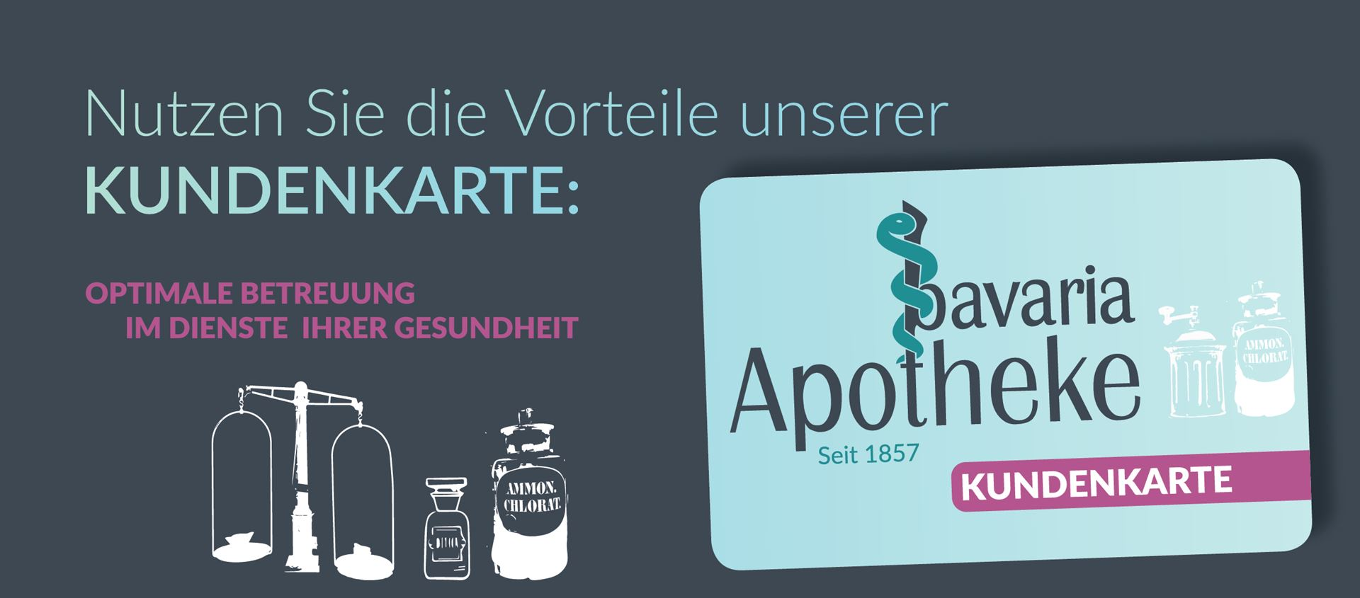 Kundenkarte Bavaria Apotheke Augsburg Lechhausen